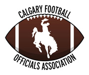 Calgary Football Officials Association logo